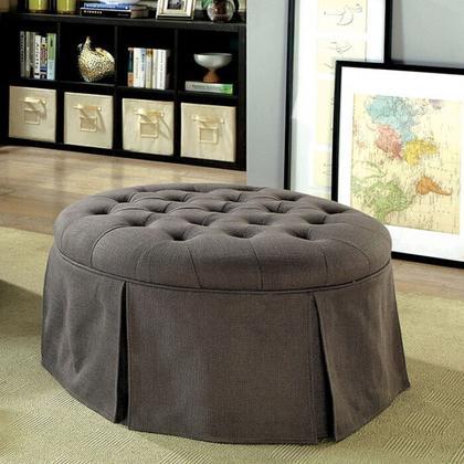 See Details - Claes Round Ottoman