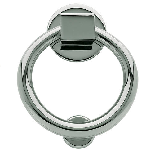 Baldwin - Polished Chrome Ring Knocker