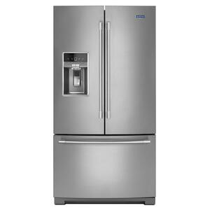 Maytag36-Inch Wide French Door Refrigerator - 27 Cu. Ft.