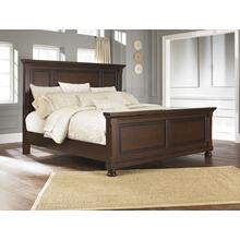 Porter King Panel Bed Rustic Brown