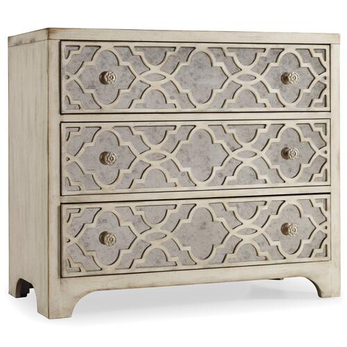 Hooker Furniture - Sanctuary Fretwork Chest-Pearl Essence