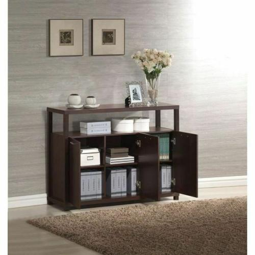 ACME Hill Console Table - 08278 - Espresso