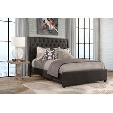 Churchill Queen Bed - Onyx Linen