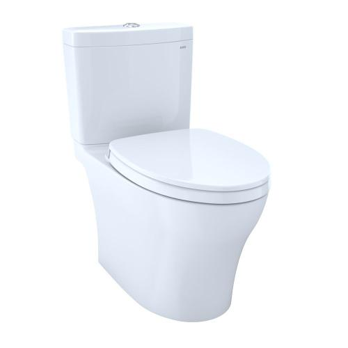 Aquia® IV 1G - WASHLET®+ S550e Two-Piece Toilet - 1.0 GPF & 0.8 GPF - Universal Height - Cotton