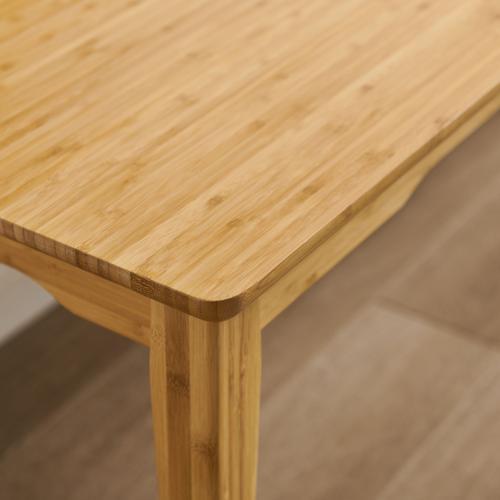 Greenington Fine Bamboo Furniture - Currant Short Bench, Caramelized