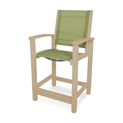 Sand & Kiwi Coastal Counter Chair