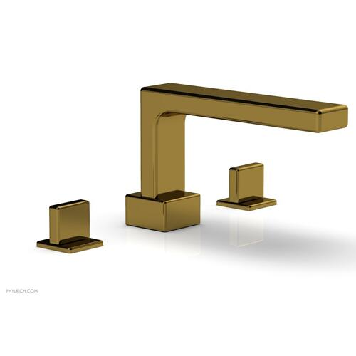 MIX Deck Tub Set - Blade Handles 290-40 - French Brass
