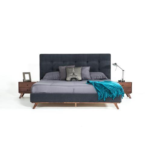 VIG Furniture - Modrest Addison Mid-Century Modern Walnut Nightstand