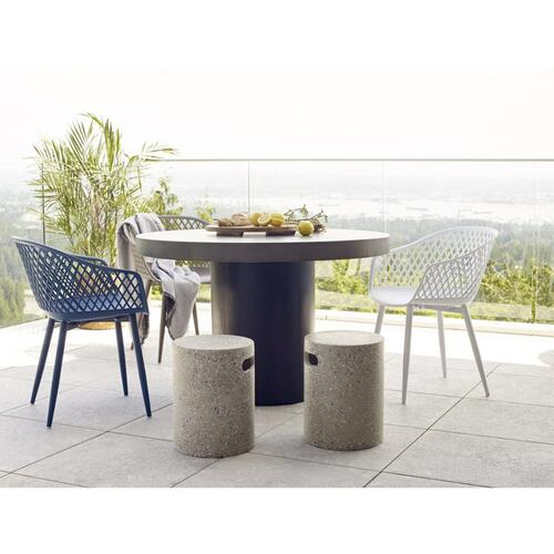 Moe's Home Collection - Piazza Outdoor Chair Grey-m2