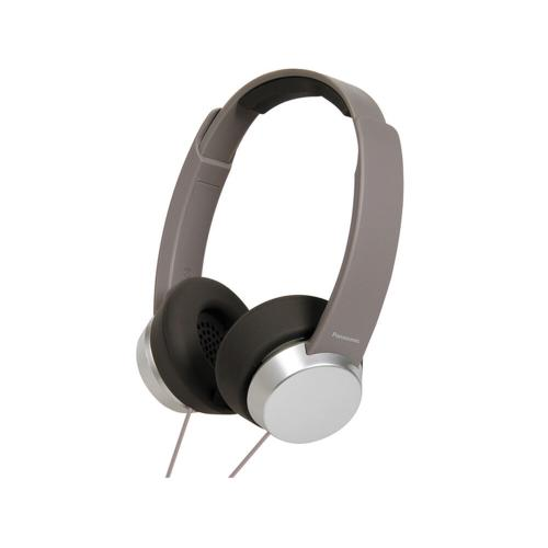 Street Style Monitor Headphones - Taupe - RP-HXD3W-T