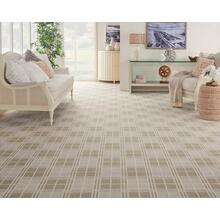 Elements Quadrant Quad Plains/ivory Broadloom Carpet