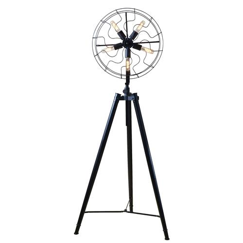 Luminaire Antique Fan Head Floor Lamp