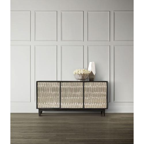 Living Room Shimmer Three-Door Credenza