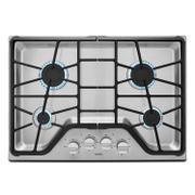 30-inch Wide Gas Cooktop with Power Burner Stainless Steel Product Image