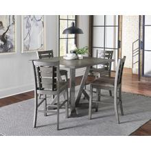 See Details - Counter Height Table - Harbor Gray Finish
