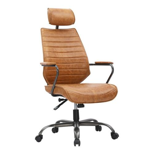 Moe's Home Collection - Executive Swivel Office Chair Cognac