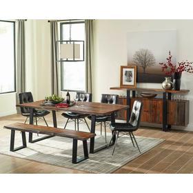 Jamestown Rustic Grey Dining Table