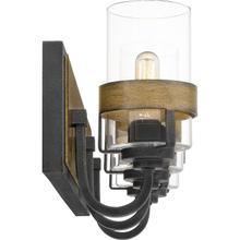 See Details - Finch Bath Light in Aged Walnut