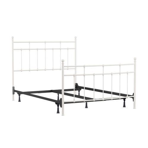 Gallery - Providence Metal Queen Bed, Soft White