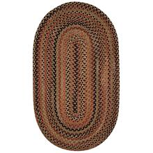 "Homecoming Chestnut Brown - Oval - 8"" x 28"""