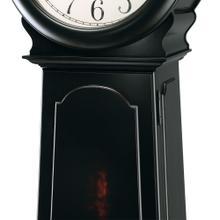 See Details - Howard Miller Nashua Black Grandfather Clock 615005