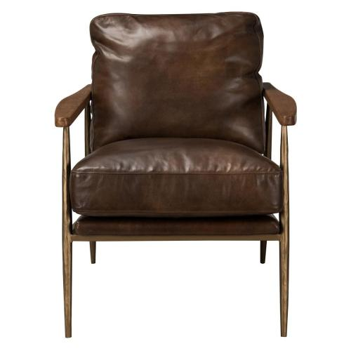 Christopher Club Chair Antique Brown