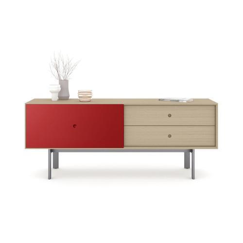 5229 Cabinet in Drift Oak Cayenne