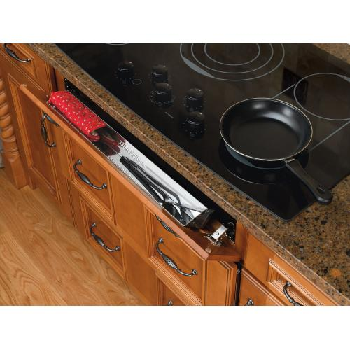"Rev-A-Shelf - 6581-19-52 - 19"" Stainless Sink Front Tray"