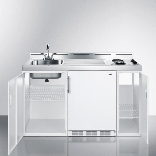 """60"""" Wide All-in-one Kitchenette"""