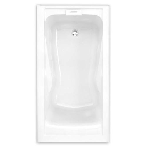 Evolution 60x32 inch Deep Soak Integral Apron Bathtub - White