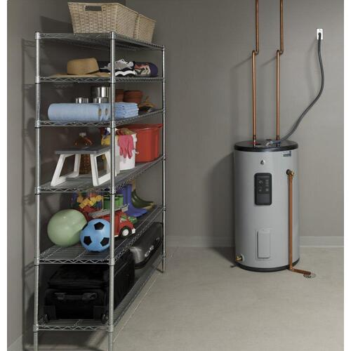 GE Appliances - GE® Smart 30 Gallon Short Electric Water Heater