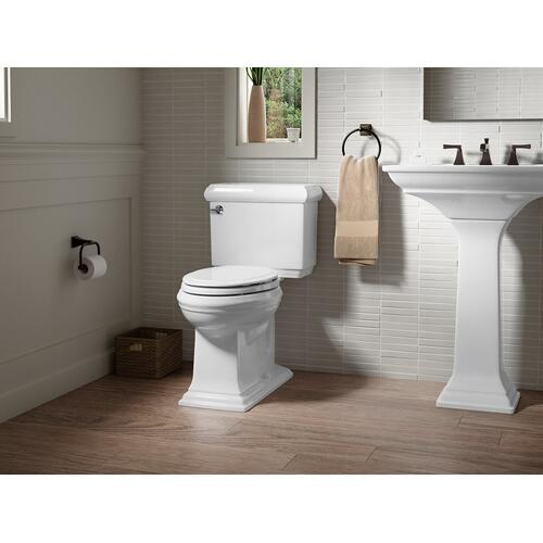 Almond Two-piece Elongated 1.28 Gpf Chair Height Toilet
