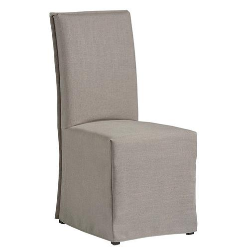 Slipcovered Accent Chair- 1/CTN - Gray Finish