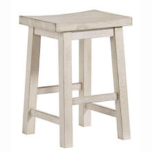 Counter Stool- 2/CTN - Dark Gray/Cream Finish