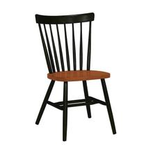 Copenhagen Chair in Black & Cherry