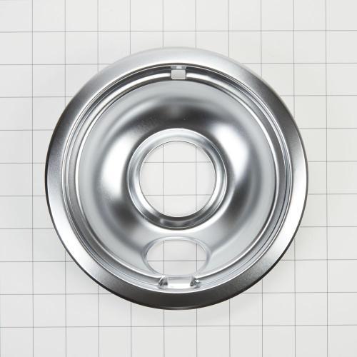 Whirlpool - Electric Range Round Burner Drip Bowl