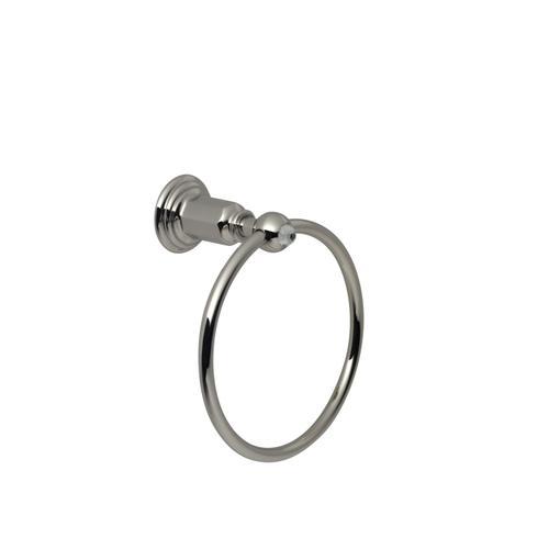 Towel Ring in Polished Nickel