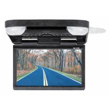 """12"""" Wide Screen LCD Monitor With DVD/USB/SD Player"""