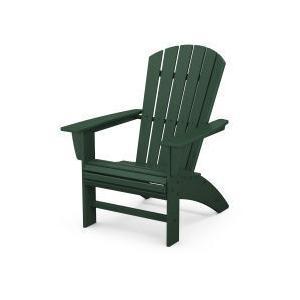Polywood Furnishings - Nautical Curveback Adirondack Chair in Green