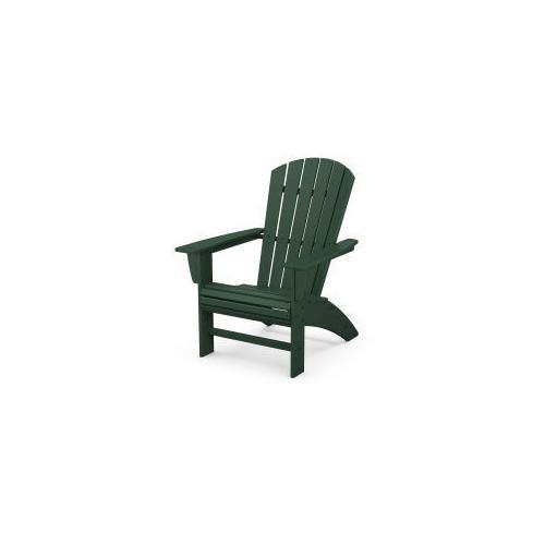 Nautical Curveback Adirondack Chair in Green