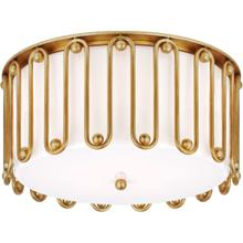AERIN Molene 4 Light 18 inch Gild Flush Mount Ceiling Light, Large