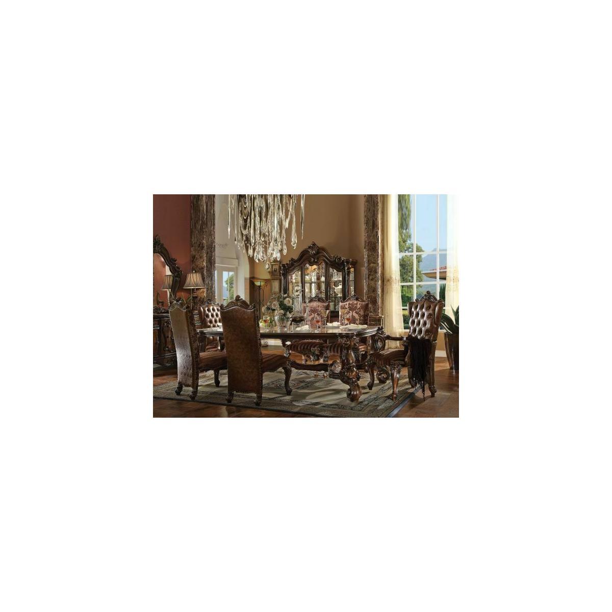 ACME Versailles Dining Table - 61115 - Cherry Oak
