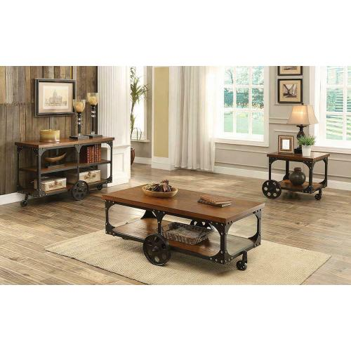 Rustic Cherry Coffee Table