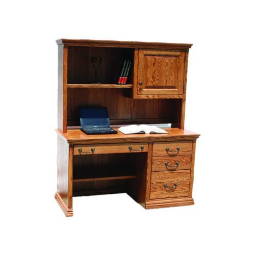 "O-T642 Traditional Oak 50"" 3-Drawer Student Computer Desk"