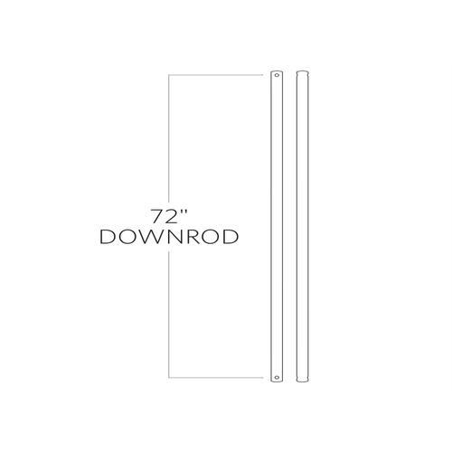 "72"" Downrod - Chrome"