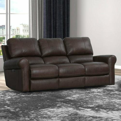 TRAVIS - VERONA BROWN Power Sofa