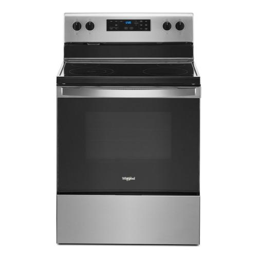 Whirlpool Canada - 5.3 cu. ft. Whirlpool® electric range with Frozen Bake™ technology