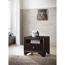 ESPRESSO NIGHTSTAND W/ONE DRW