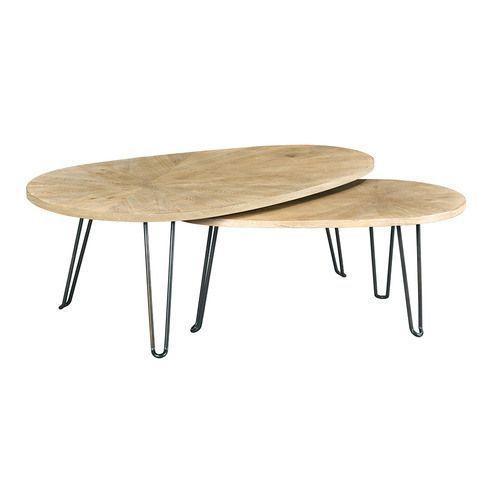 La-Z-Boy - Oblique Bunching Cocktail Table
