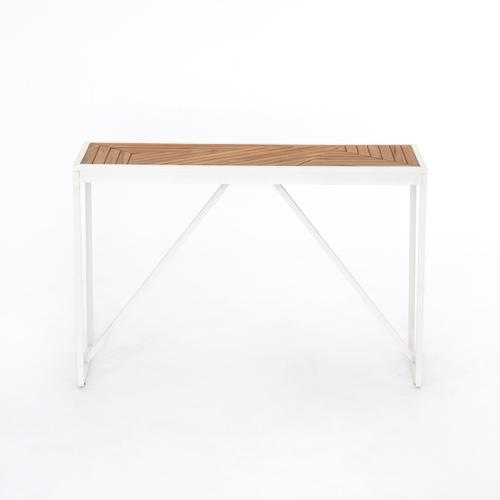 Maeve Outdoor Console Table-natural Teak